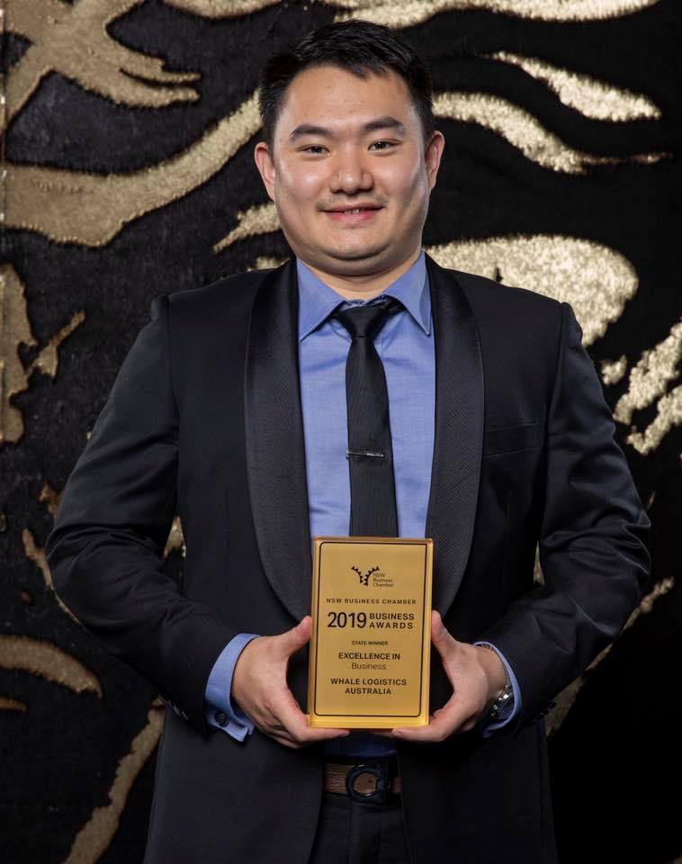 Whale NSW Business Chamber Excellence in Business 2019