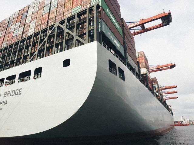 sea freight remains the most volume for global freight forwarding