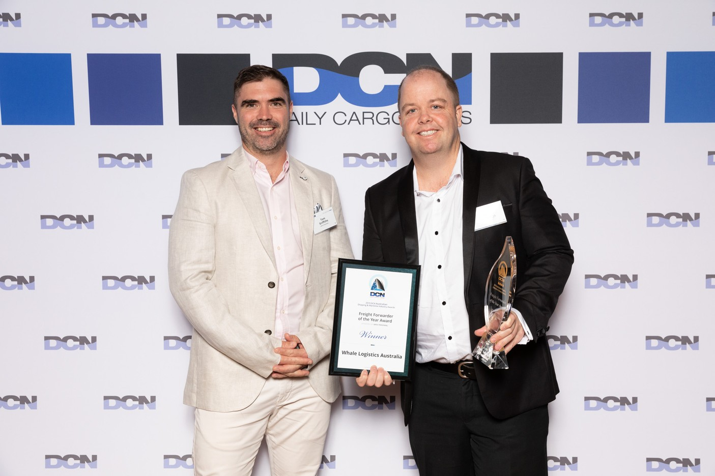 Whale Logistics Australia as Freight Forwarder of the Year - DCN Awards