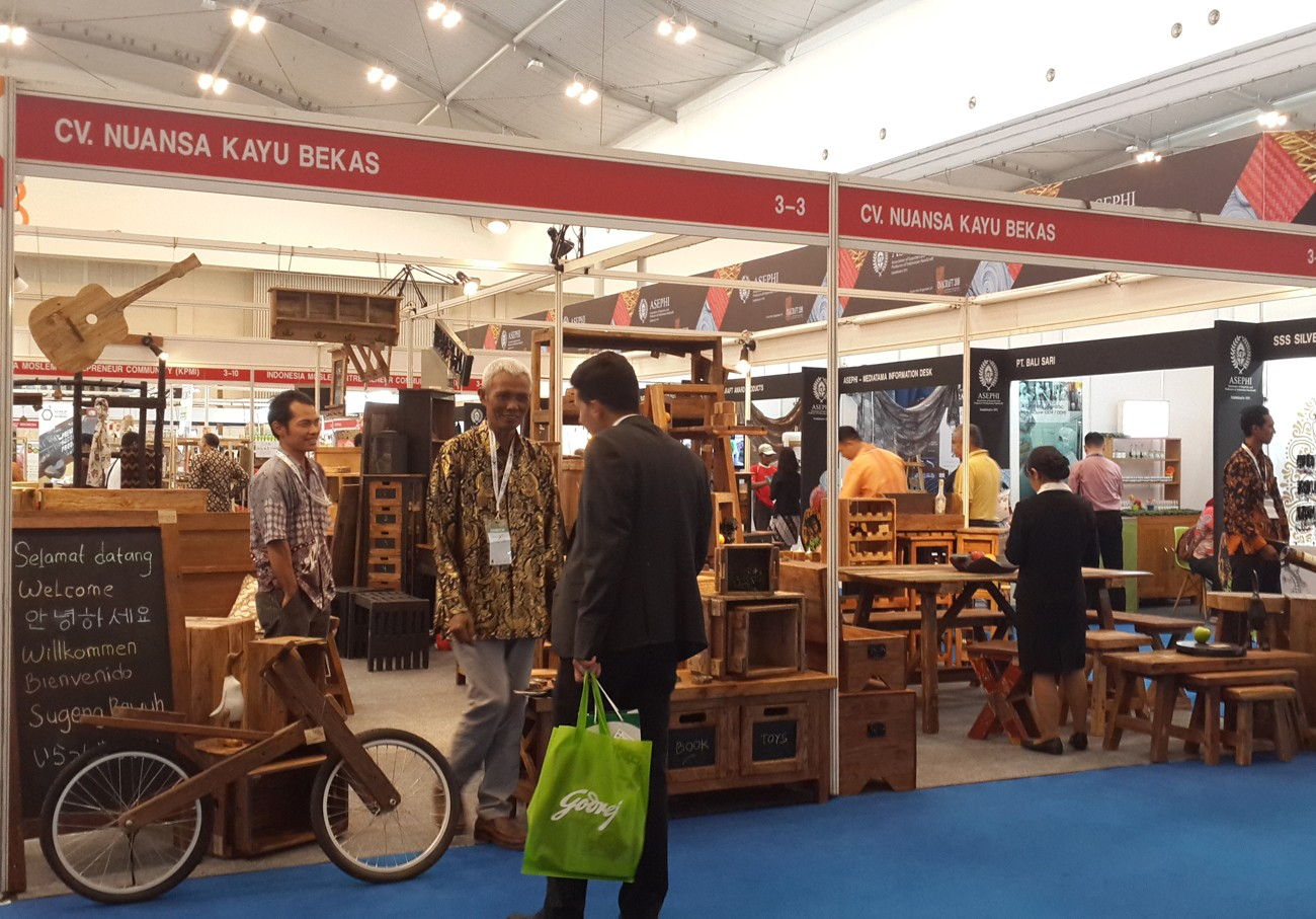 Indonesian Furniture and Craft Association exhibition