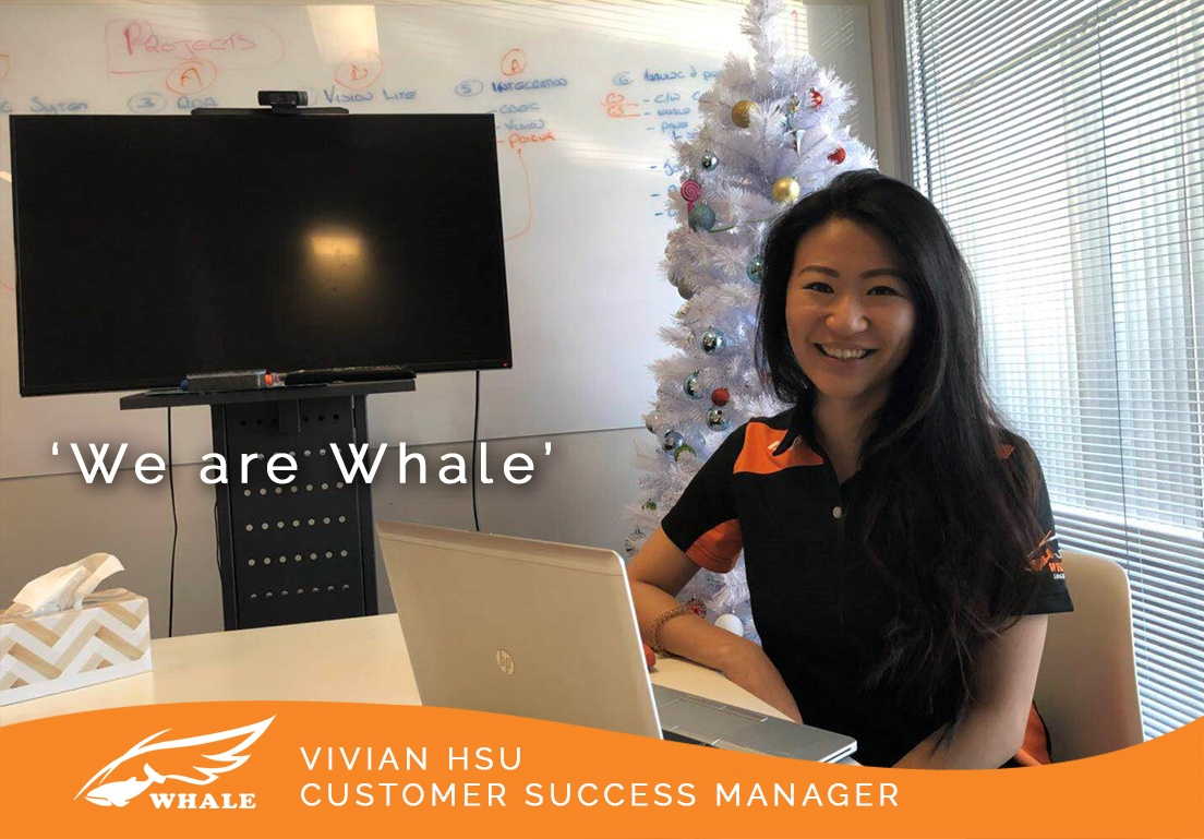 'We are Whale' - Vivian Hsu, Customer Success Manager | Whale Logistics Blog